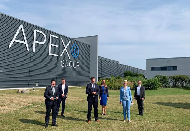 Besichtigung des Wasserstoffsprojekts der Firma APEX