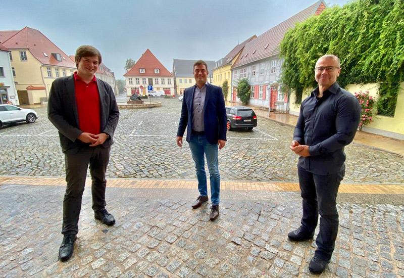Infostand der SPD in Bützow
